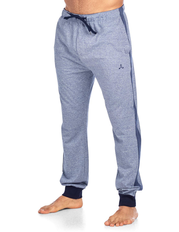 Balanced Tech Men's Jersey Knit Jogger Lounge Pants - Medium Denim - Small/S