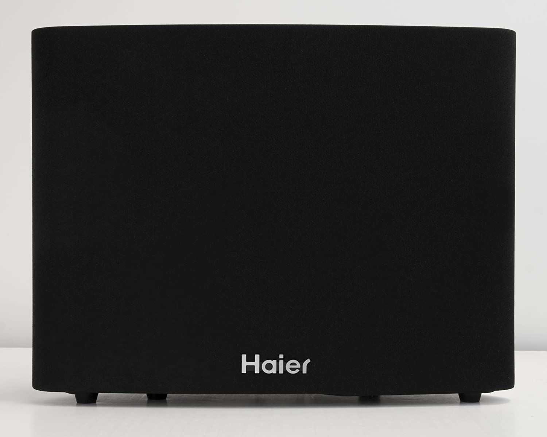 Haier SBEV40-SLIM Inalámbrico y alámbrico 2.1channels 160W Negro altavoz soundbar: Amazon.es: Electrónica
