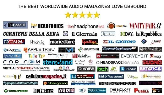 UBSOUND Smarter Pro Auriculares In-Ear ergonomicos (IEM) con Micrófono: Amazon.es: Electrónica
