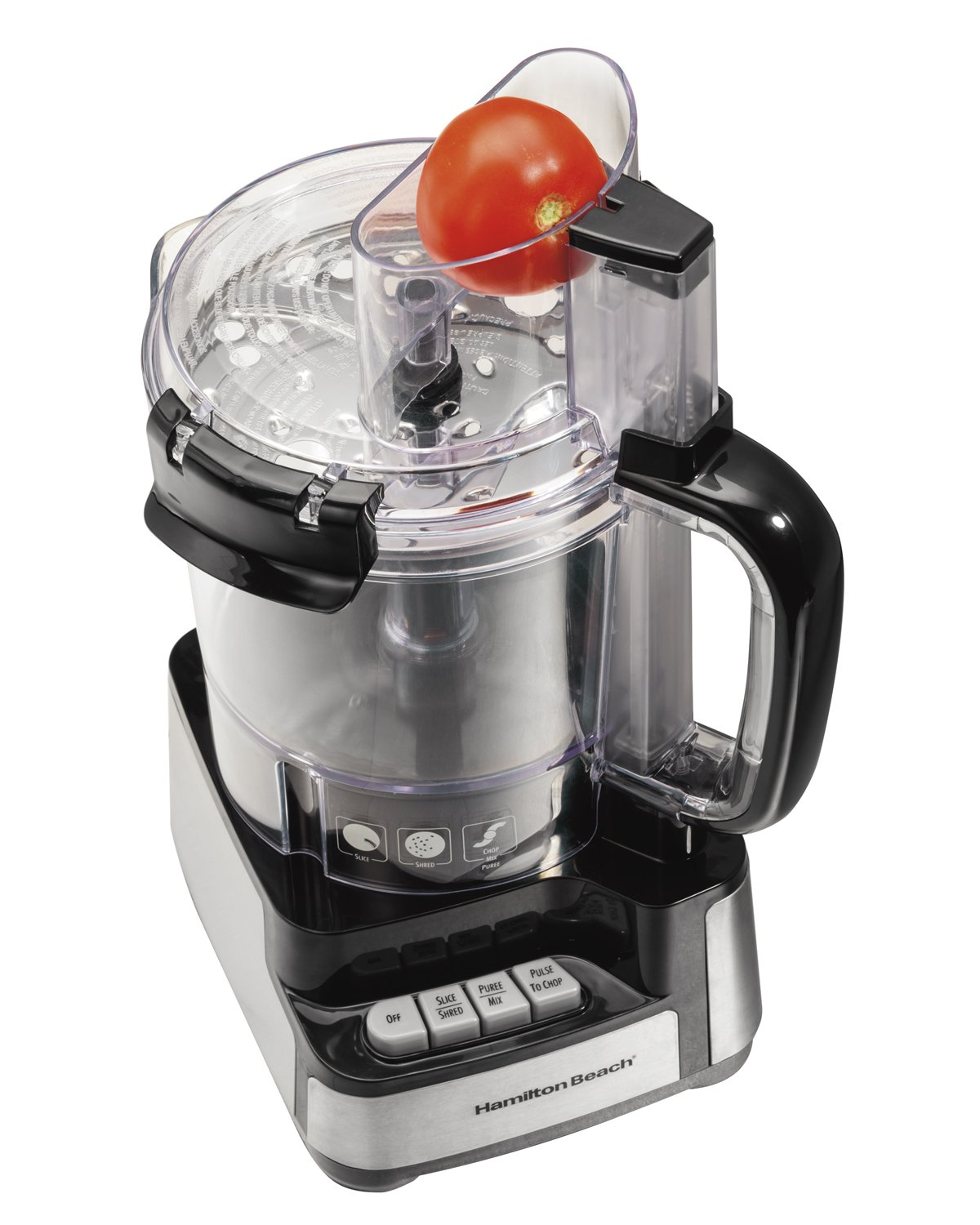 Amazon.com: Hamilton Beach 12-Cup Stack and Snap Food Processor ...