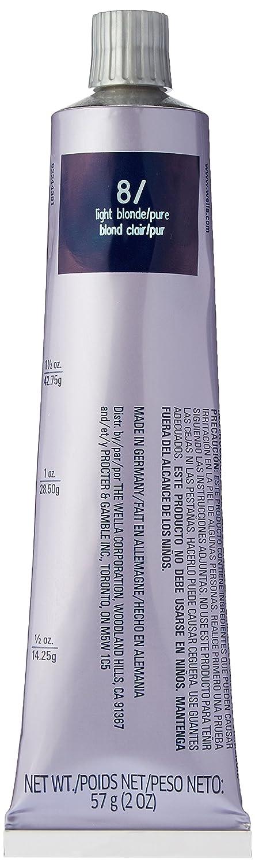 Amazoncom Wella Illumina Permanent Creme Hair Color 8 2 Ounce