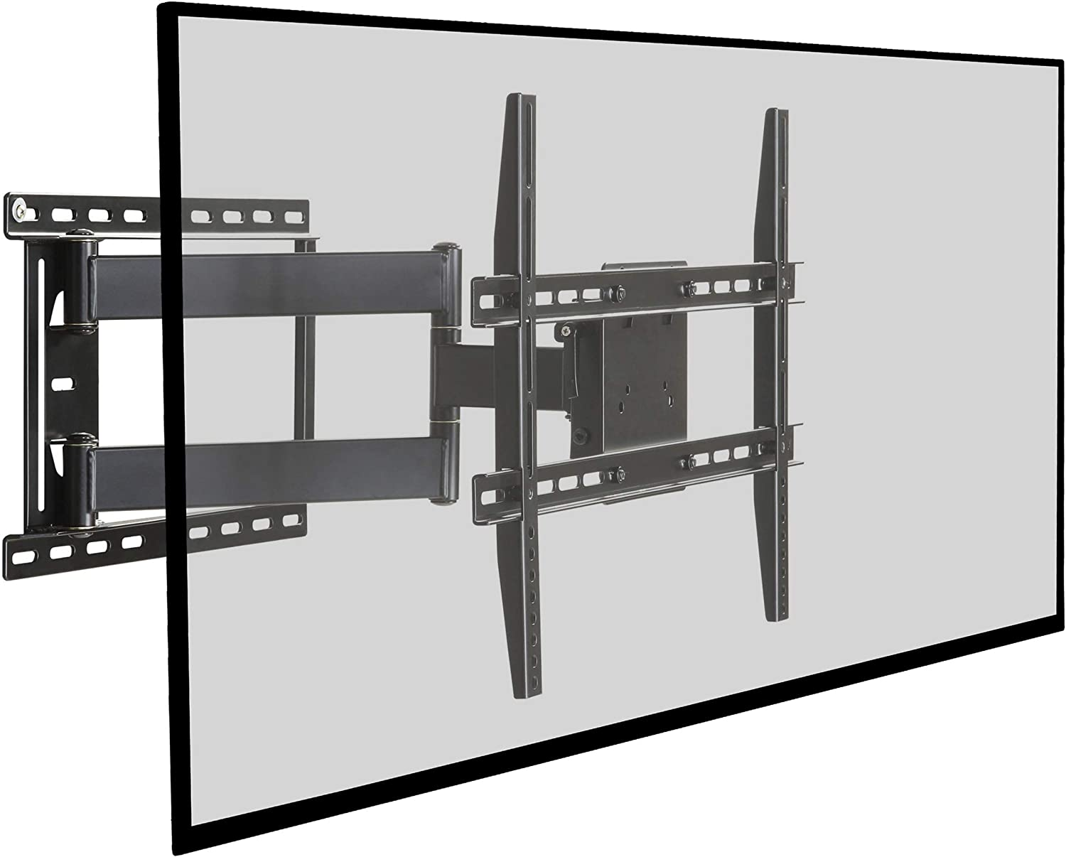 Atlantic Full Motion TV Wall Mount - Articulating Mount for Flat Screen TVs from 37 inch to 64 inch, PN63607068