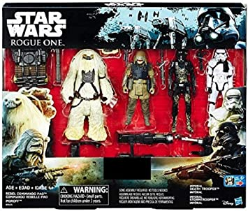 STAR WARS ROGUE UNO Exclusivo Figura de acción 4 Pack ...