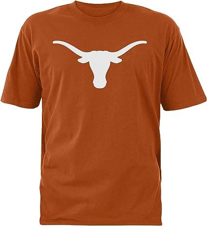 NCAA Texas Longhorns Mens Silhouette Tee Burnt Orange S