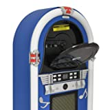 Retro Desktop CD Jukebox Speaker System with