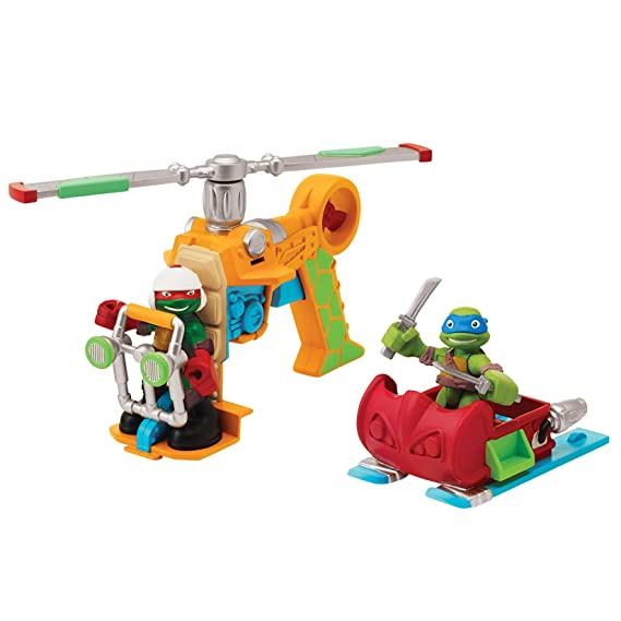 Teenage Mutant 96704 Ninja Turtles - Figura de vehículo y ...