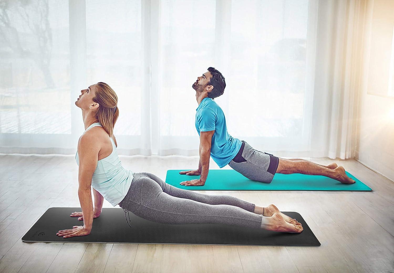 Amazon.com: Ewedoos - Esterilla de yoga ecológica TPE ...