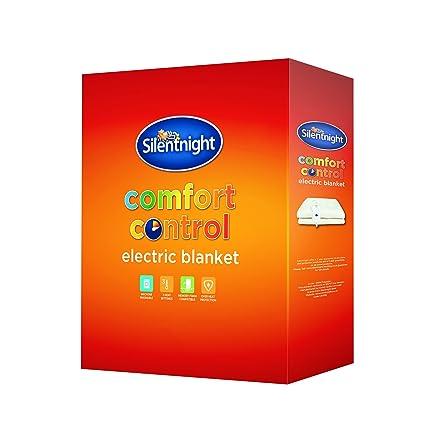 Silentnight Manta eléctrica Comfort Control, Blanco, matrimonio