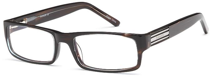 Amazon.com: Mens Thick Renegade Prescription Glasses Frames Rxble in ...