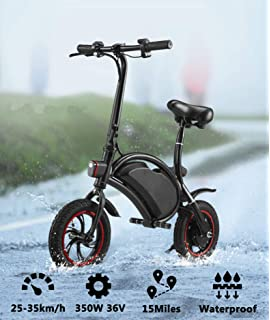 Amazon.com: MegawhEELS - Patinete eléctrico plegable ...