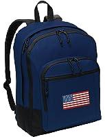 American Flag Backpack CLASSIC US Flag School Bag or Travel