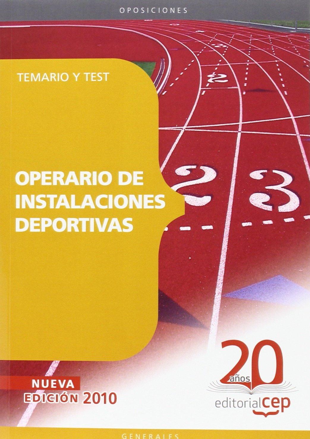 Operario de Instalaciones Deportivas. Temario y Test (Colección 109)