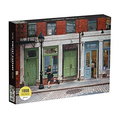 Galison Vincent Giaranno 1000 Piece New York City Jigsaw Puzzle for Adults, NYC Photo Puzzle with Scene from New York City's Streets, Multicolor: Giaranno, Vincent, Galison: Toys & Games