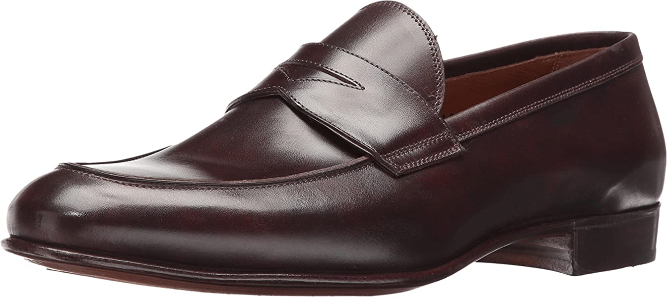 d1f86030f88 Gravati Men s Penny Loafer Black Cherry Shoe