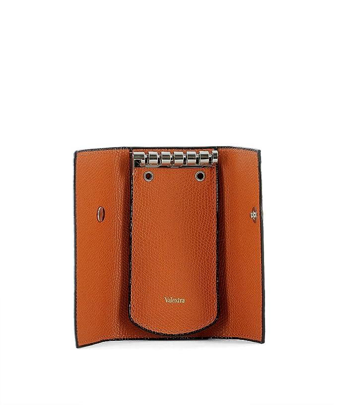 21fe9b2729 Valextra Portafoglio Donna V1l76028aranrd Pelle Arancione: Amazon.it:  Abbigliamento