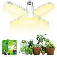 LED Grow Light , Grow Light Bulb Fan Light Bulbs Full Spectrum, Weegrow Plant Light 20w 230V E26 Base, 150W Equivalent…