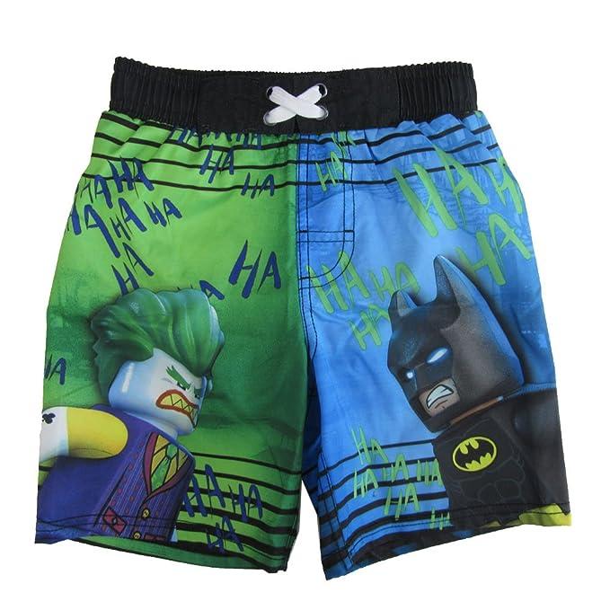 48cd08b7eb Amazon.com: LEGO Batman and Joker Swim Shorts: Clothing