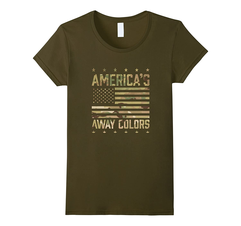 Army OCP America's Away Colors T Shirt 20466