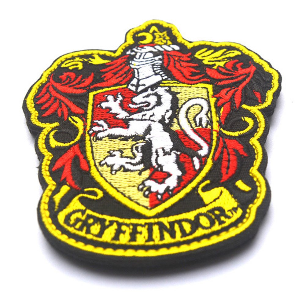 c34bf0ac2da 2 PCS Harry Potter House of Ravenclaw Hogwarts Crest Patch Full Color  Iron-On Patches Applique ...