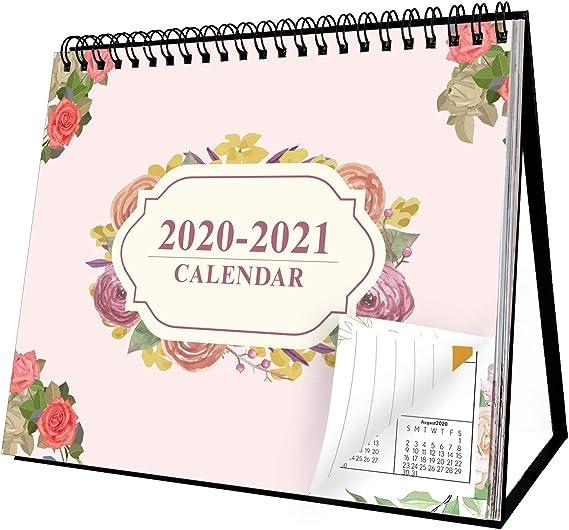 1pc Durable 2021 Calendar Desktop Calendar for Indoor Office