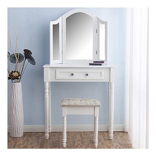 triple dressing table mirror. Black Bedroom Furniture Sets. Home Design Ideas