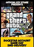 Grand Theft Auto V ONLINE ACCOUNT (PC) GTA 5 (SMS DELIVERY) ( NO CD/DVD)