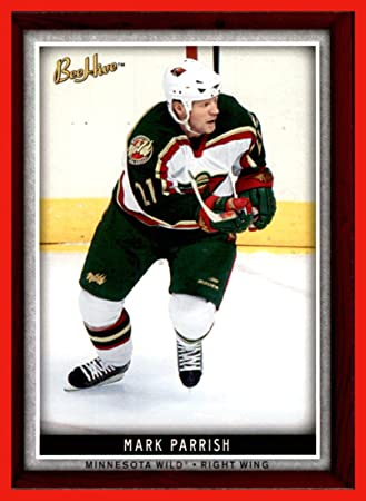 2006 07 Beehive 54 Mark Parrish Minnesota Wild At Amazons Sports