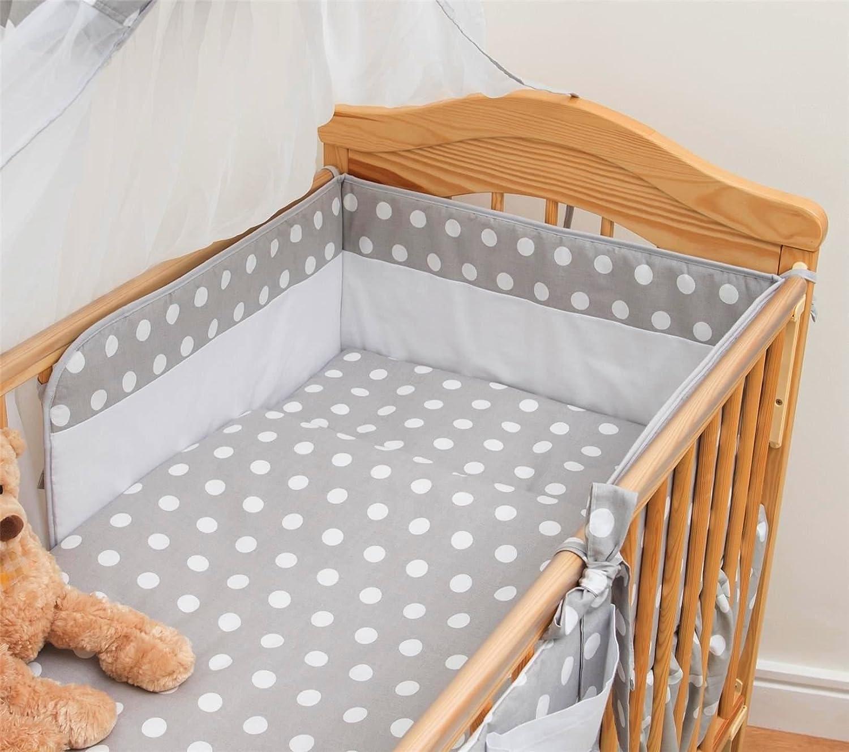 Baby Comfort 3 pièces Chambre Parure de lit pour lit bébé 120x60 cm - motif 11
