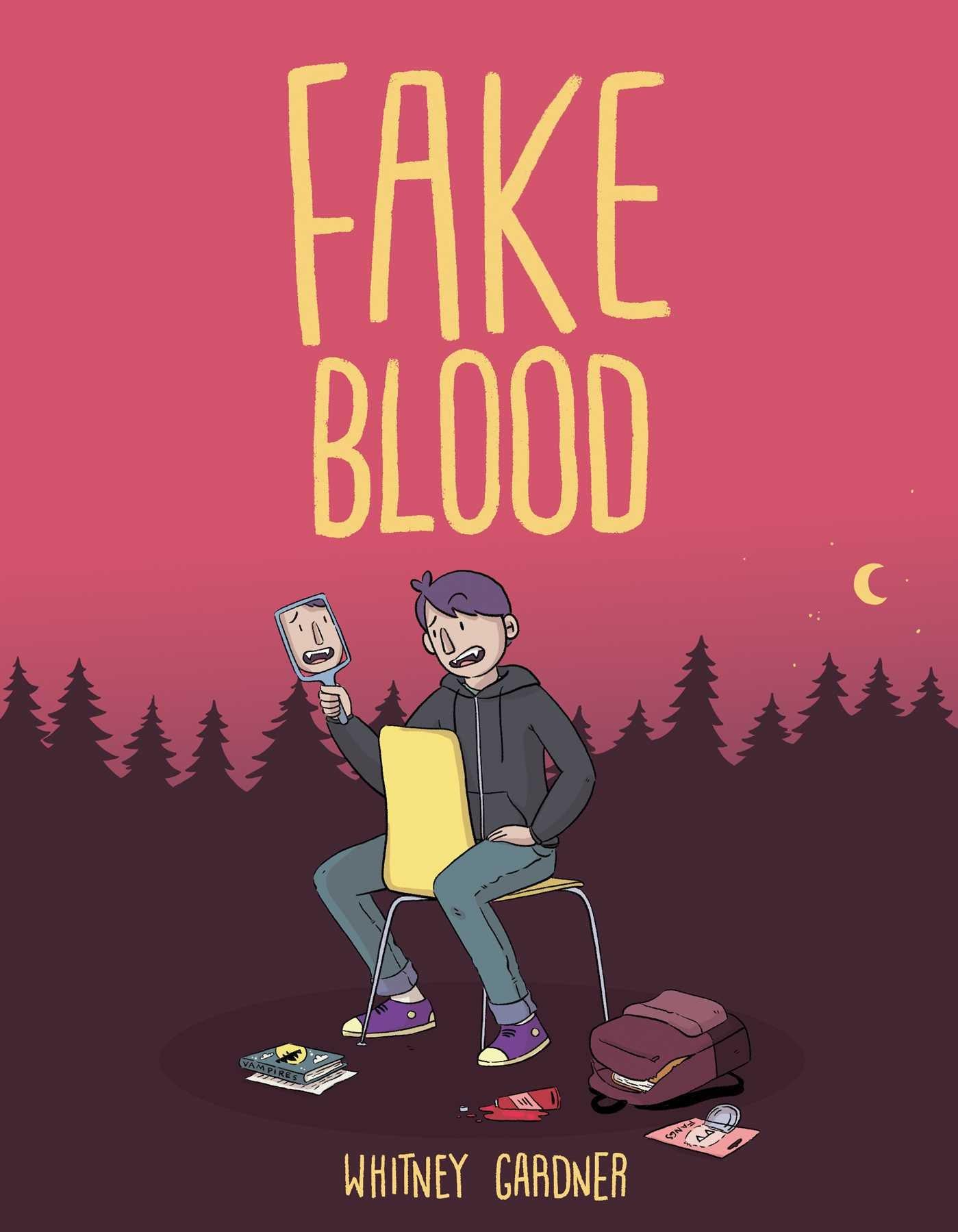 Image result for fake blood graphic novel