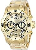 Invicta 0074 - Reloj para hombre color dorado / dorado