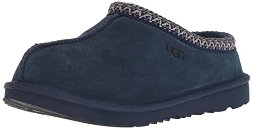 cb8f9caff79 UGG Unisex-Kids K Tasman II Slipper, New Navy, 5 M US Big Kid ...