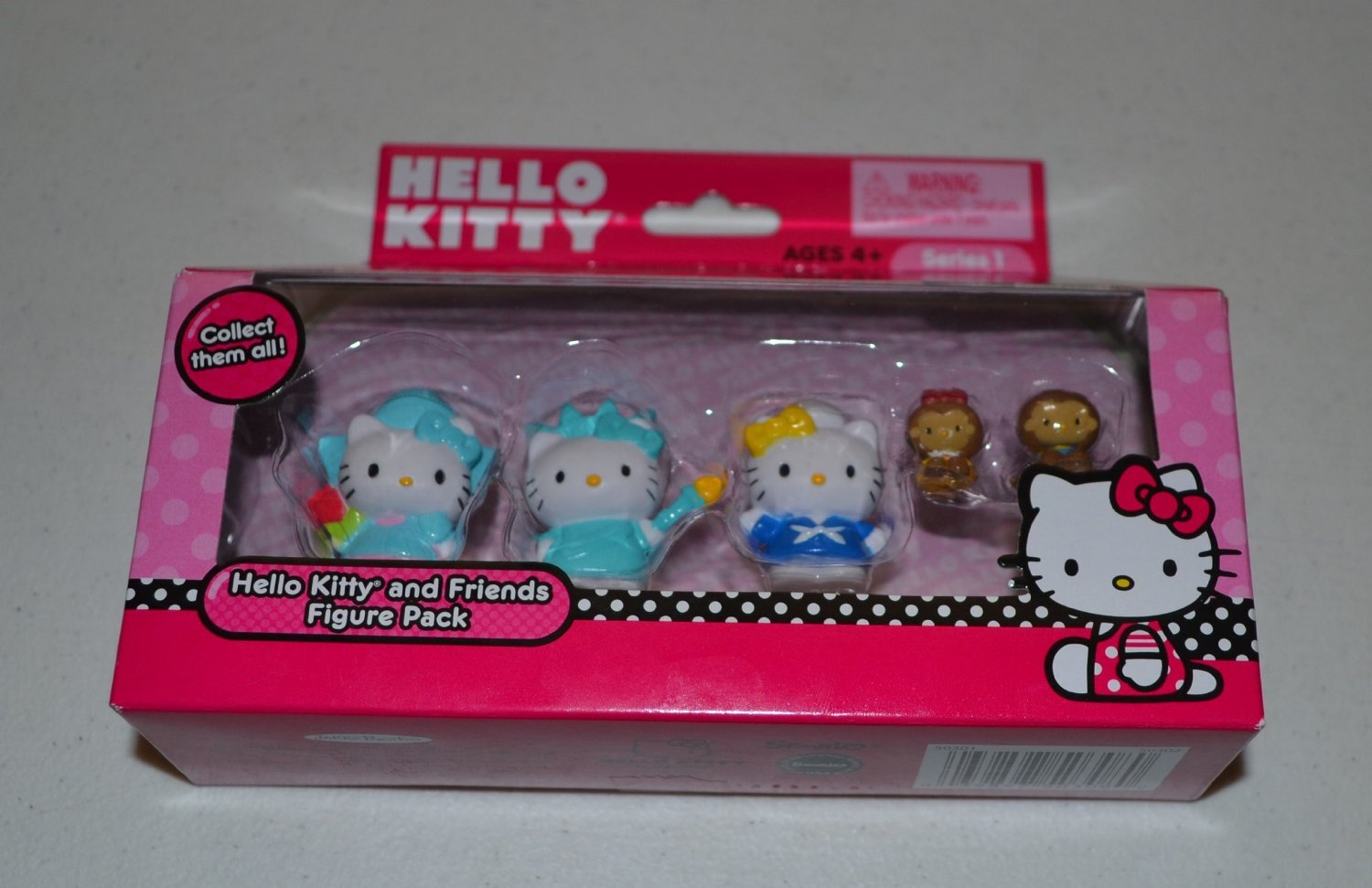 Hello Kitty and Friends Series 1 Style 5 Figure Pack