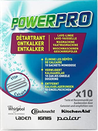 Wpro DES100 PowerPro - Producto antical para lavadoras y ...