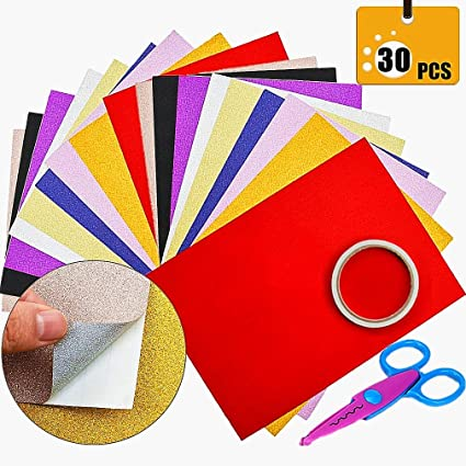 very sticky 25 Double Sided A4 Adhesive Tape sheets