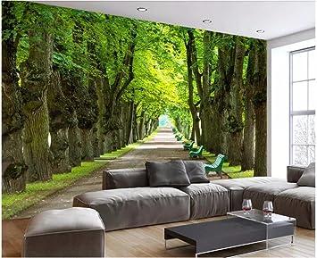 HHCYY Benutzerdefinierte 3D Tapete Wohnzimmer Einfache Und ...