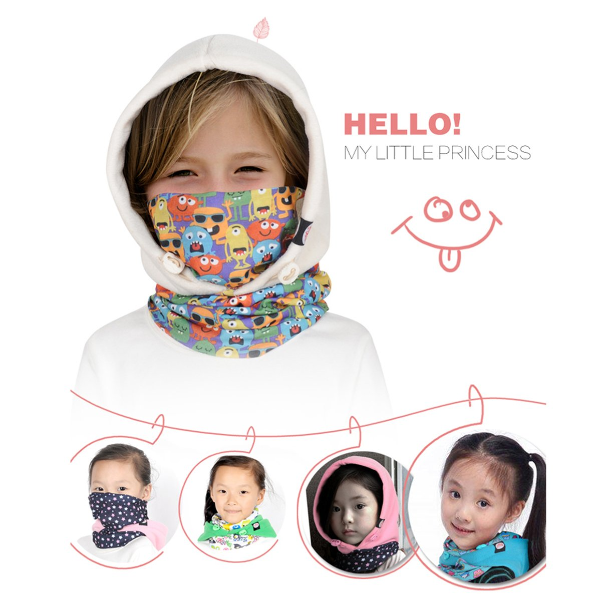 Amazon.com: TRIWONDER Balaclava Hat for Kids Face Mask Thermal ...