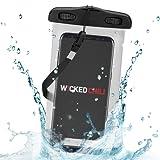 Wicked Chili Beachbag / Outdoor Bag für Samsung, Nokia, LG, HTC, Motorola, Huawei - Schutzhülle für Strand, Wandern, Outdoor (Schutz gegen Staub, Sand, Nässe / wasserdicht bis 3m Tiefe / IPx8)