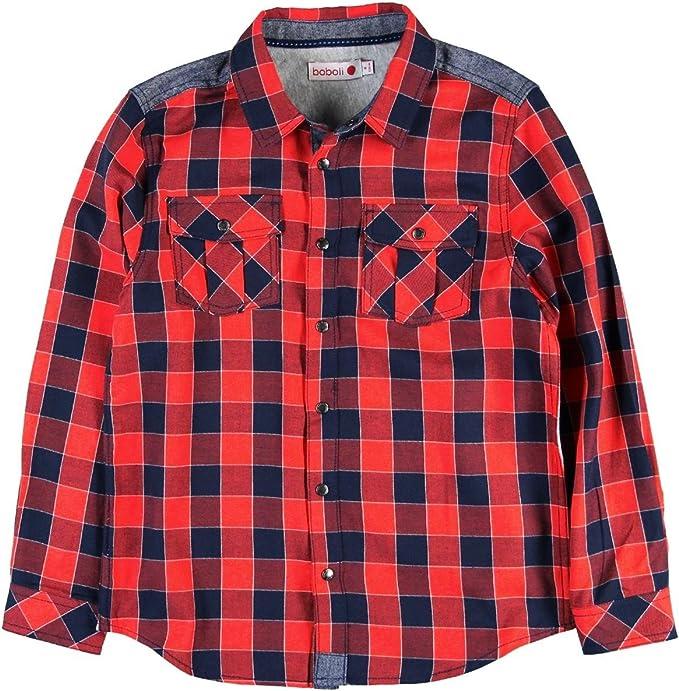 boboli 514088 Camisa, Multicolor (Cuadros Multicolor), 140 (Tamaño del Fabricante:140cm) para Niños: Amazon.es: Ropa y accesorios