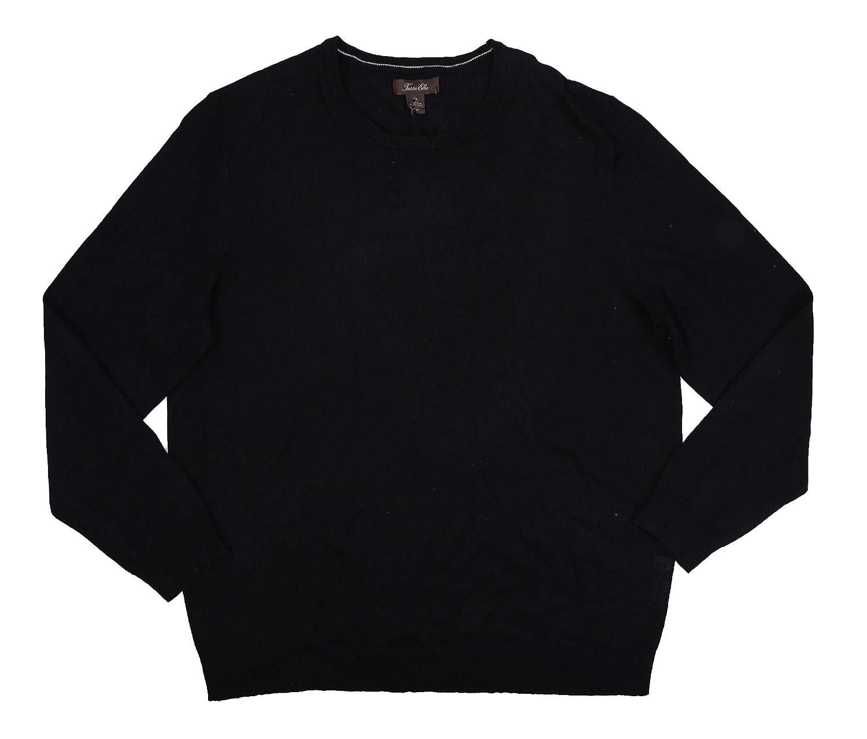 Tasso Elba Mens Wool Day to Night Pullover Sweater