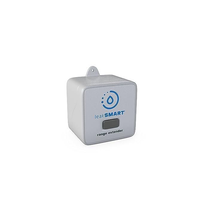 Water Leak Sensor Range Extender by leakSMART, Maximizes In-Home Flood Protection Coverage - - Amazon.com