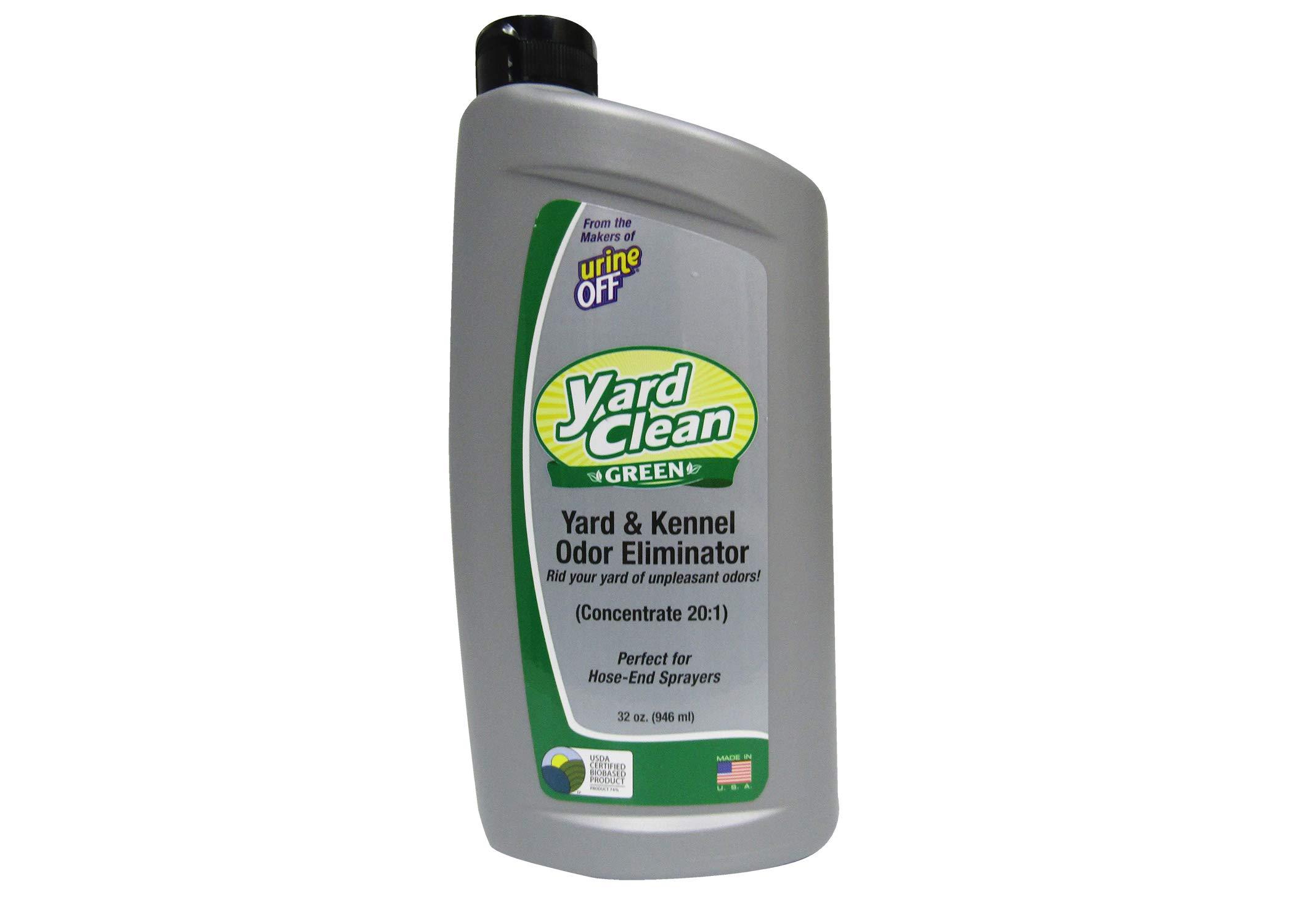 Urine Off BU1027 32 oz 20:1 Concentrate Clean Green(TM) Yard and Kenner Odor Eliminator