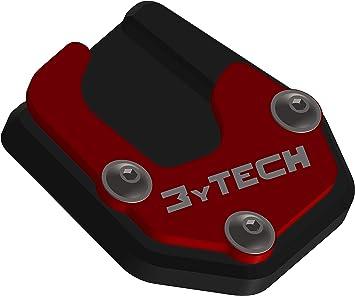Mytech Seitenständerverbreiterung Auflagevergrößerung Aus Eloxiertem Hochfestem Aluminium Motoguzzi V85 Tt 1 Serie 2019 Rot Auto