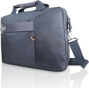 "Lenovo 15.6"" Topload Laptop Carry Case by NAVA - Blue (GX40M52030)"