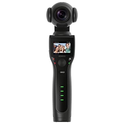 d1af69971 Amazon.com   Removu K1 4K UHD Video Camera with Integrated 3-Axis Self  Stabilizer   Camera   Photo