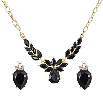 buy set elegant necklace designer voylla gold sets products online