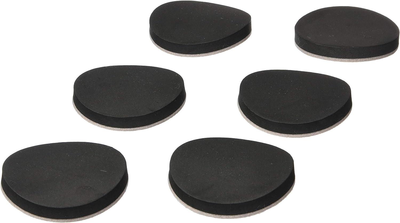 PRIME-LINE Furniture Sliders 3-1/2 in. Round Reusable Foam Cushion w/Felt Beige (16- Pack) (MP75011)