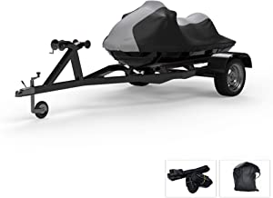 Weatherproof Jet Ski Covers for Yamaha Wave Runner FX Cruiser HO 2009-2011 - 4 Color Option - All Weather - Trailerable - Protects from Rain, Sun, and More! Includes Trailer Straps and Storage Bag