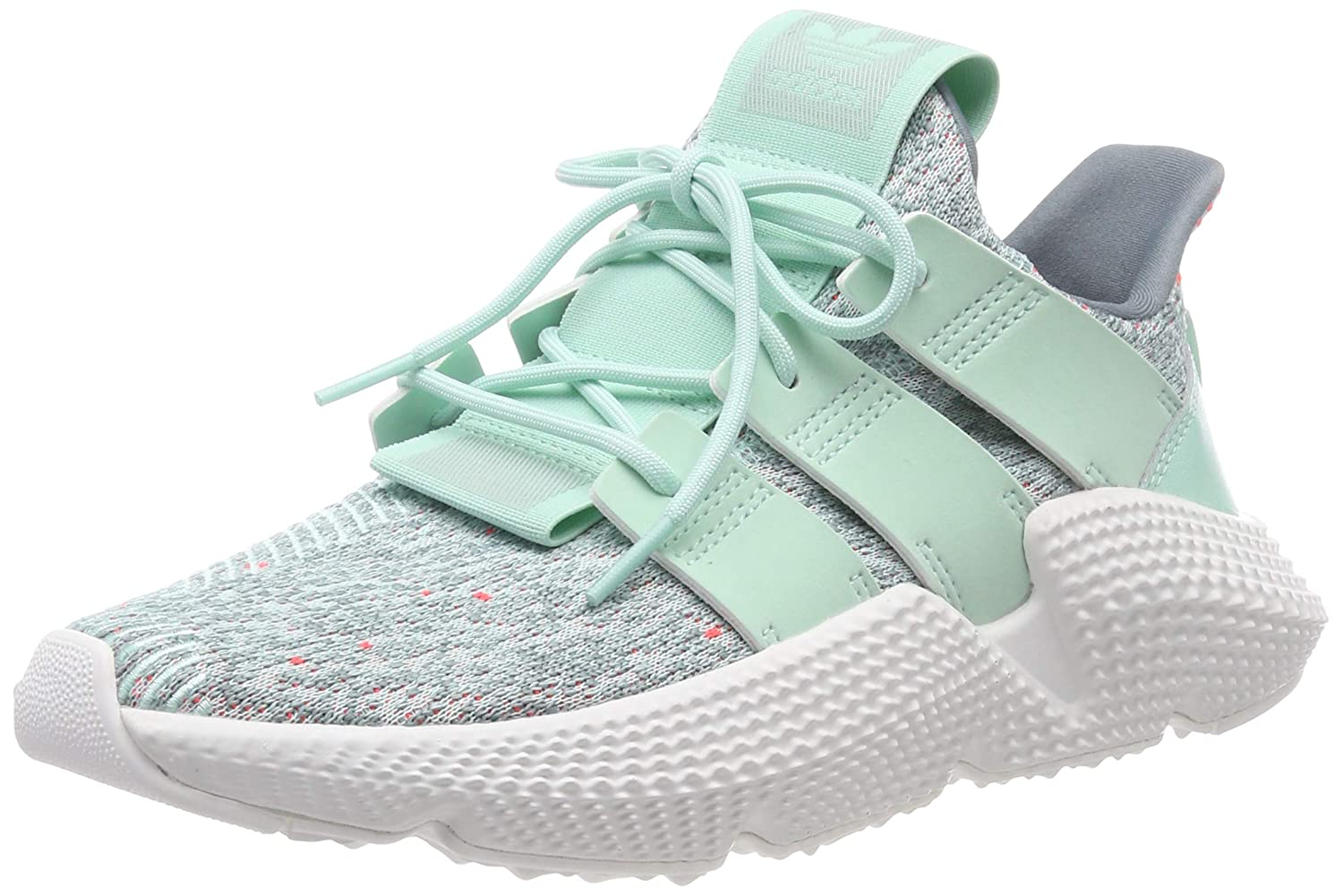 adidas Womens Prophere W Gymnastics Shoes, Green (Clear Mint/Clear Mint/Solar Red), 5.5 UK