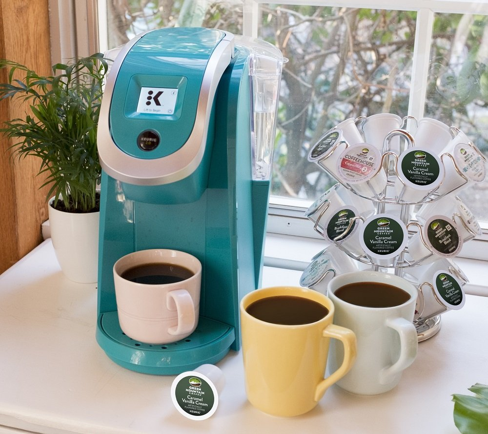 Keurig K250 Single Serve, Programmable K-Cup Pod Coffee Maker with strength control, Turquoise by Keurig (Image #8)