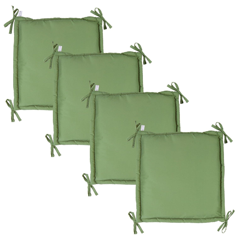 Miadomodo Cuscino per panca panchina da giardino esterno colore, grandezza & set a scelta (beige S set da 2) GRTBK00A0bgS2ER